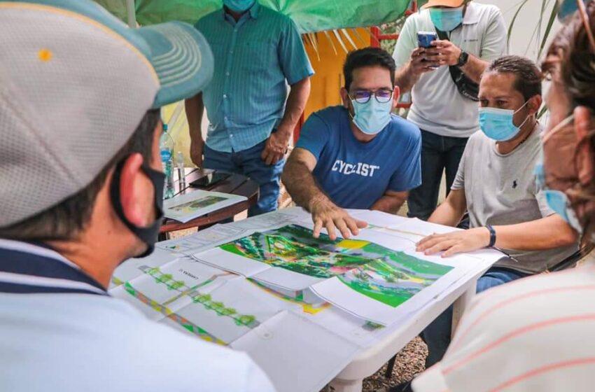 Remodelación del Malecón de Acacías servirá para reactivar el turismo