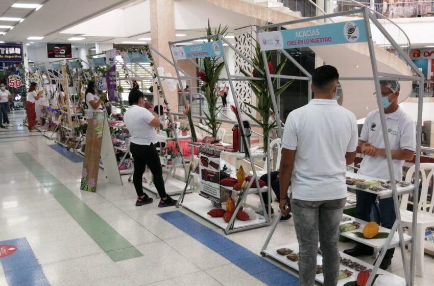 Inició la feria de emprendedores acacireños en Unicentro de Villavicencio