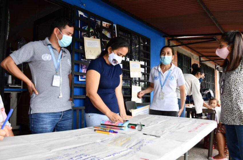 Acuillanos de Acacías recibió capacitación y dotación de última tecnología // Foto Ecopetrol