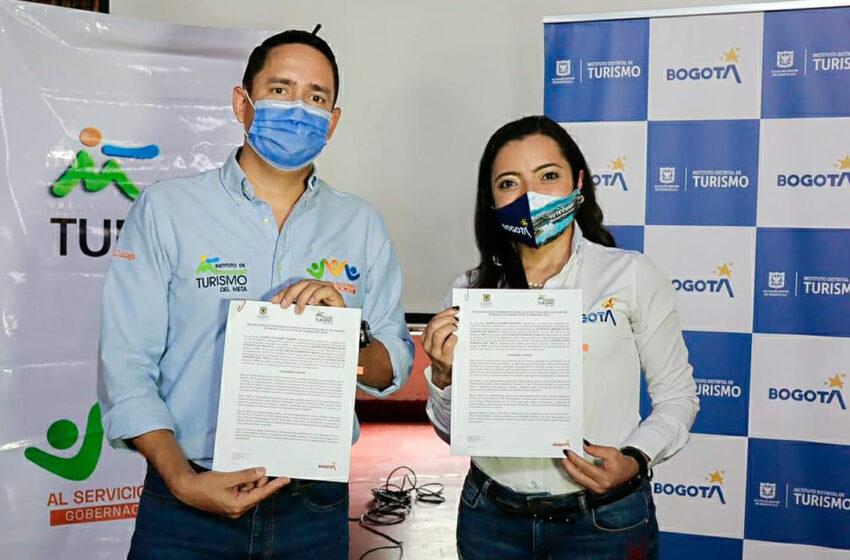 Bogotá y Meta firman memorando para fortalecer la actividad turística