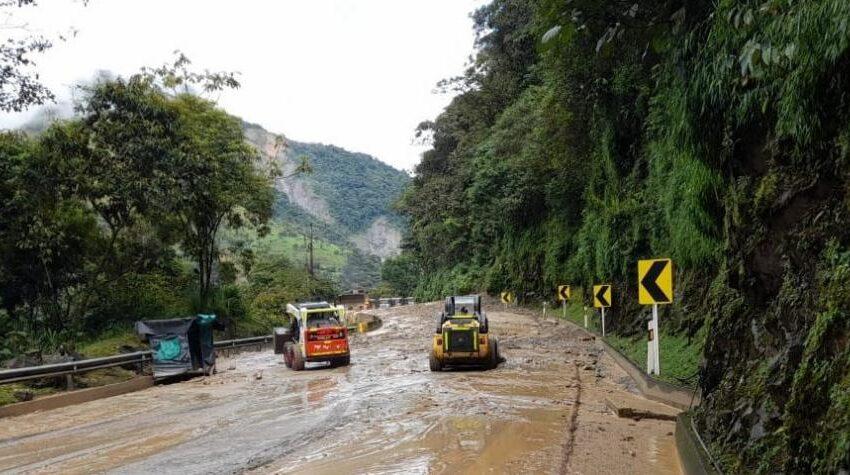 Conozca las vías alternas para vehículos de carga entre Bogotá y Villavicencio